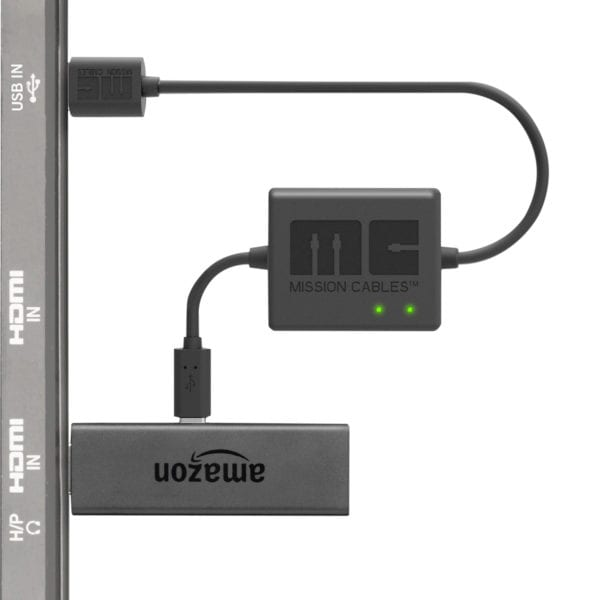 Mission USB Power Cable for Fire TV Stick