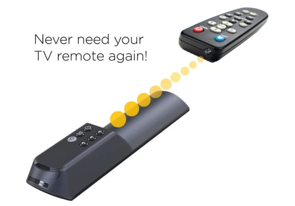 Learns Your TV Remote