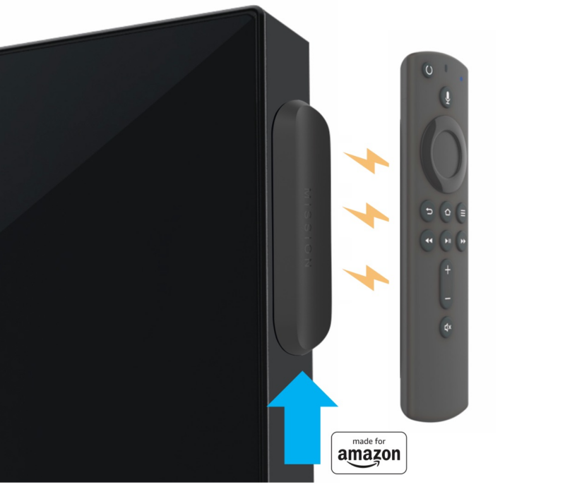 Mission Magic Remote Holder for Amazon Fire TV Remote